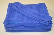 11x18 Navy Blue Hand Towels Wholesale