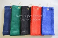 Tri-fold Golf Towels Wholesale