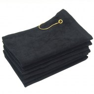 Black Golf Towels Wholesale