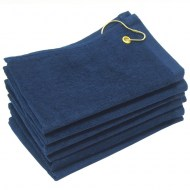 Navy Blue Golf Towels Wholesale