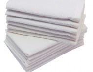11x18-White Fingertip towels 100% cotton