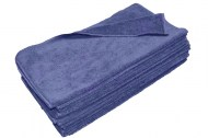 Premium Wholesale Navy Blue Microfiber Towels