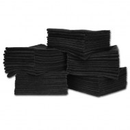 Black Microfiber Towels Economy Wholesale