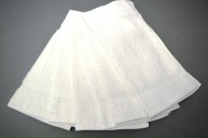 Premium White Washcloths Wholesale