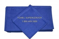 Premium 100% Cotton Royal Blue Wholesale Bath Towels