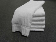 Premium 100% Cotton Wholesale White Bath Towels
