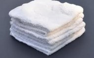 Premium 100% Cotton Wholesale White Washcloths