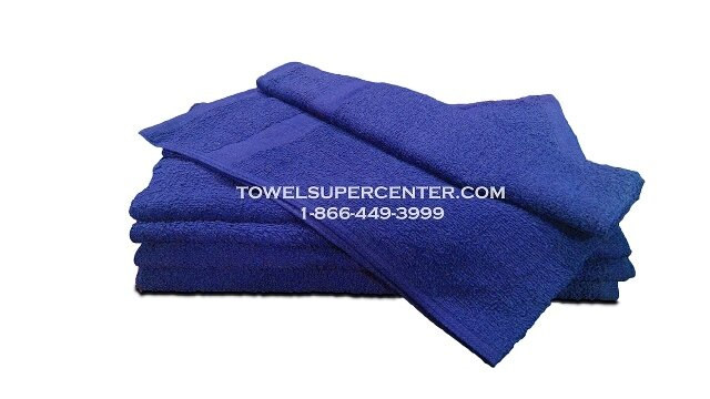 Premium Royal Blue Hand Towels Wholesale