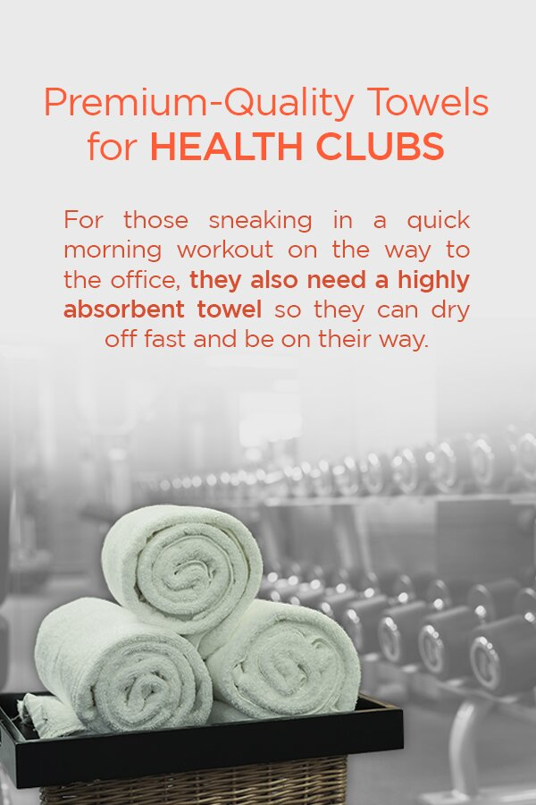 Premium-Quality Towels for Health Clubs