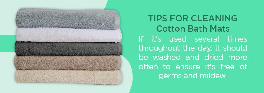 Tips for Cleaning Cotton Bath Mats