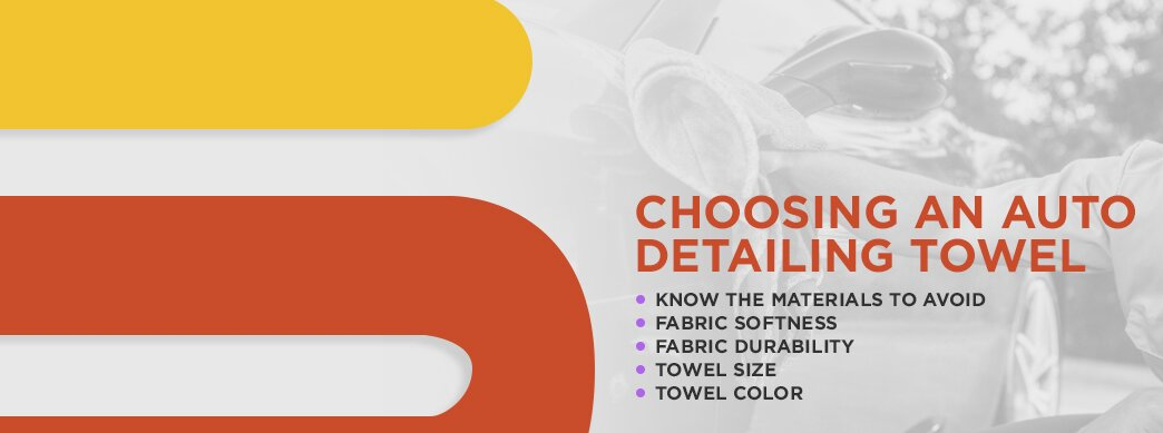 How to choose an auto detailing towel