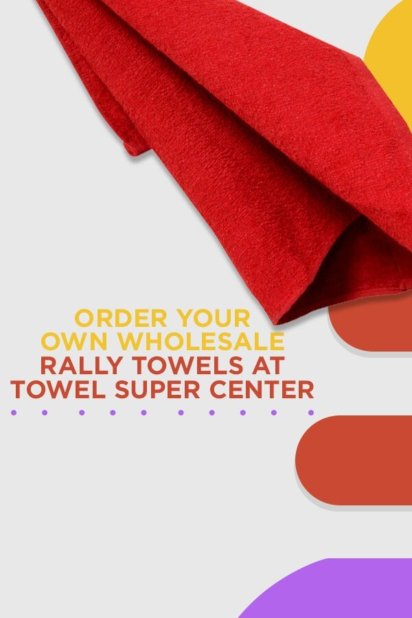 Shop wholesale rally towels