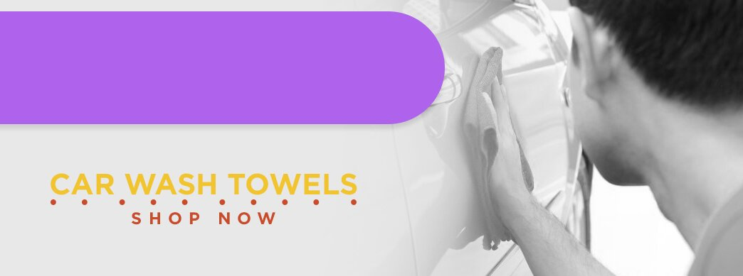 Shop towels for your car wash