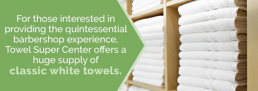 Wholesale Classic White Towels