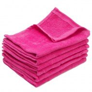 Hot Pink Fingertip Towels Wholesale