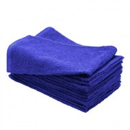 100% Cotton Bleach Resistant Wholesale Royal Blue Hand Towels