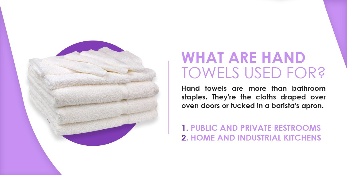 What are hand towels used for