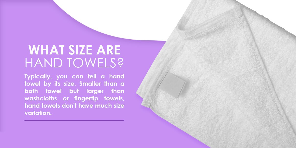 What size are hand towels?